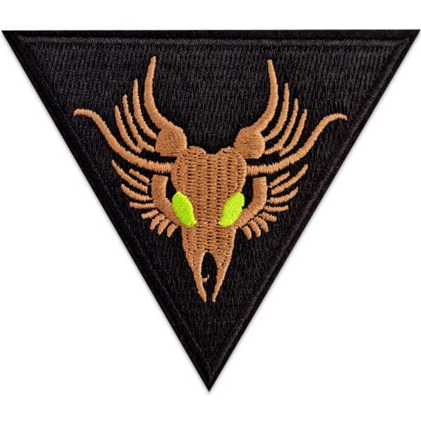 drake emblem tygmärke