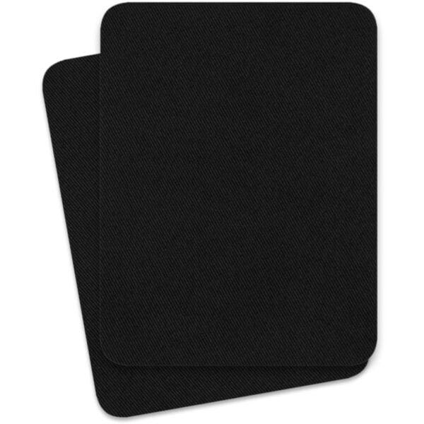 svart lagningslapp att stryka på och laga kläder