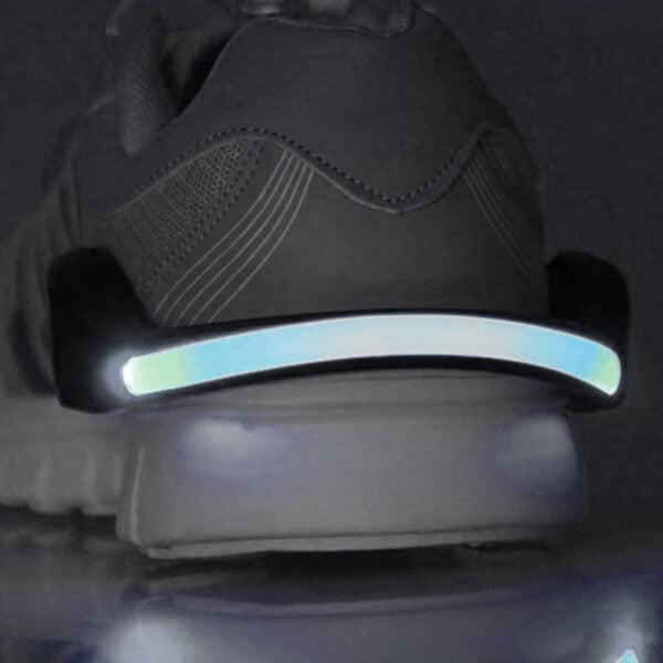 Led-belysning för skor