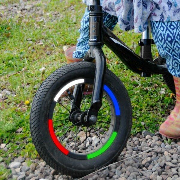 reflexer till barnens cykel