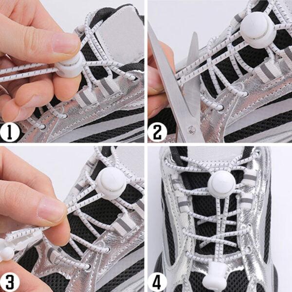 Guide Reflex skosnören - elastiska snören