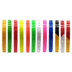 reflextejprullar i olika färger