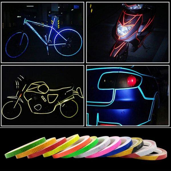 reflextejp till cyklar