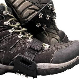Broddar enkla att få på och passar alla skor
