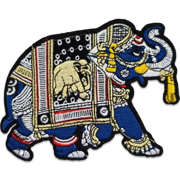 tygmärke elefant orientalisk
