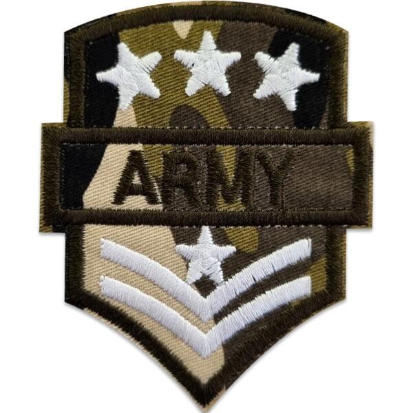 tygmärke militär army