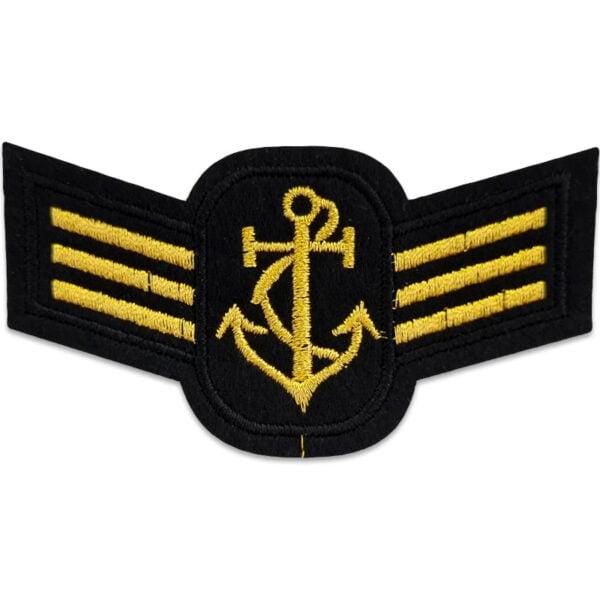 tygmärke militär flotta