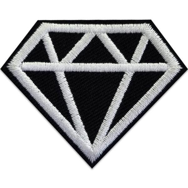 Svart diamant - tygmärke