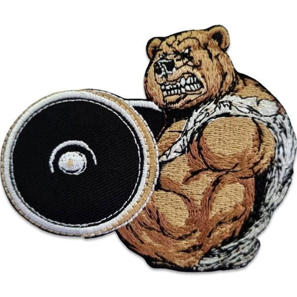 tygmärke stark björn