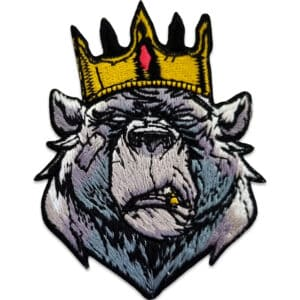 tygmärke björn kung