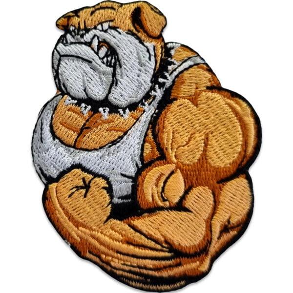 tygmärke stark bulldog
