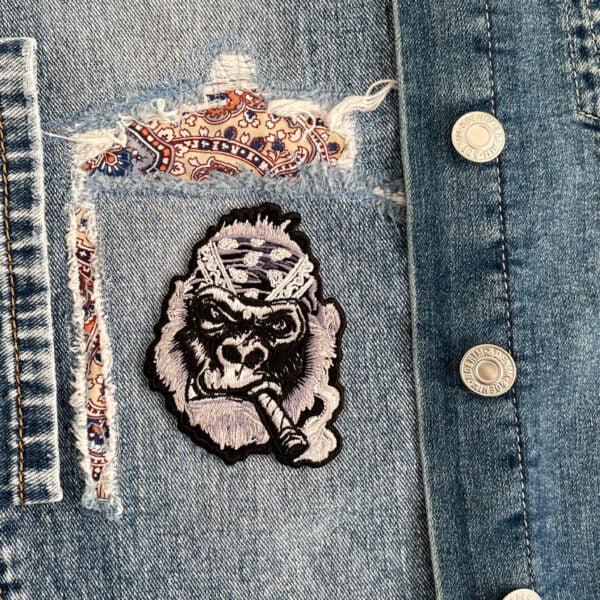 tygmärke tuff gorilla kläder