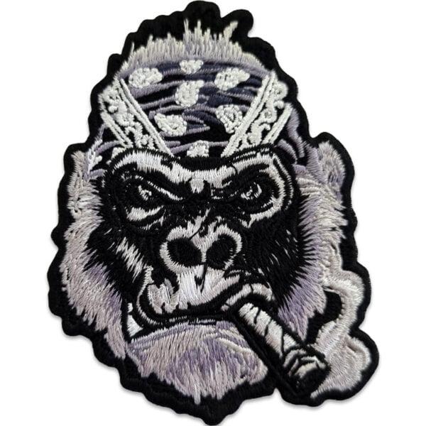 Smoking gorilla med bandana och en feting