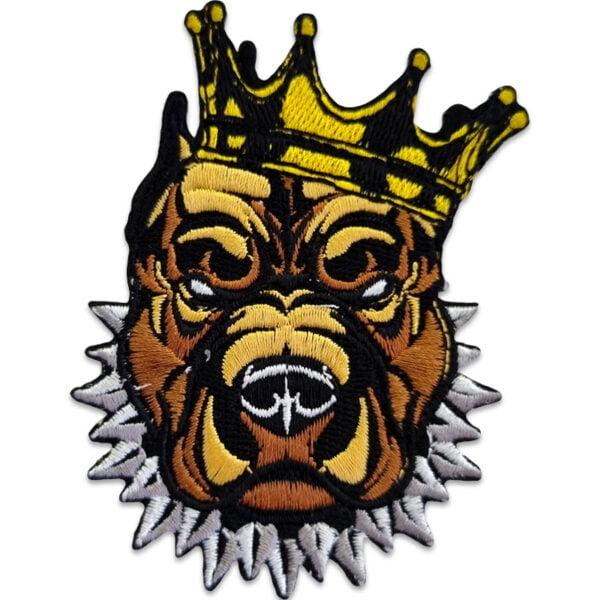 tygmärke pitbull kung