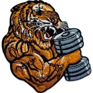 tygmärke stark tiger