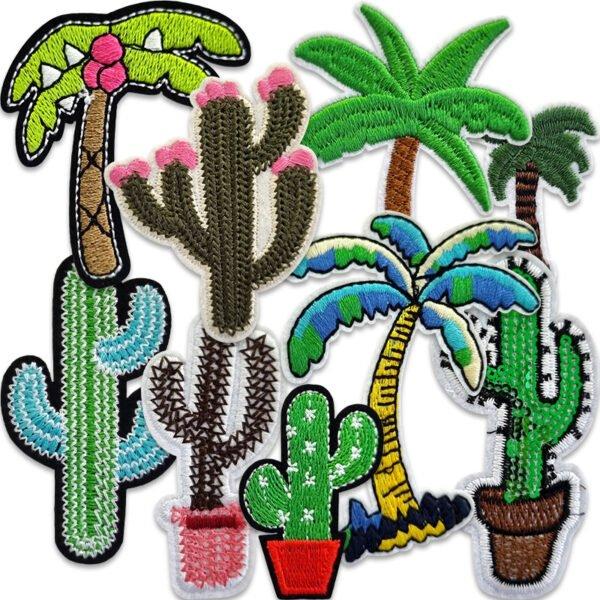 tygmärken kaktusar palmer