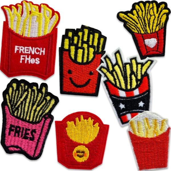 tygmärken pommes frites
